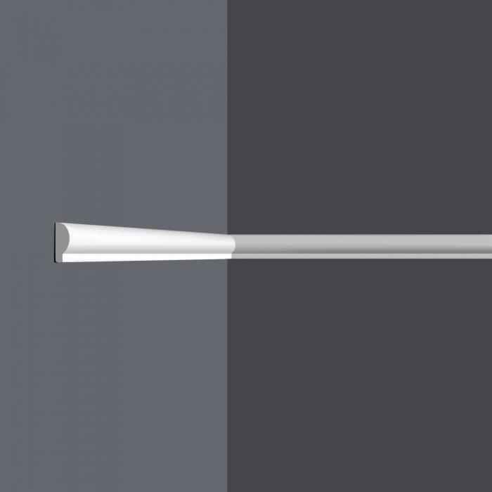 Vägglist frigolit L7