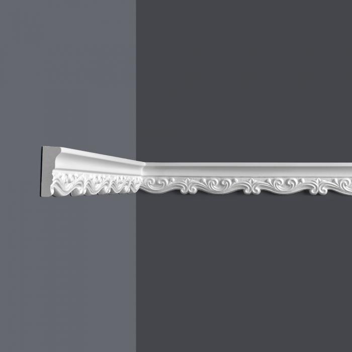 Vägglist frigolit L4