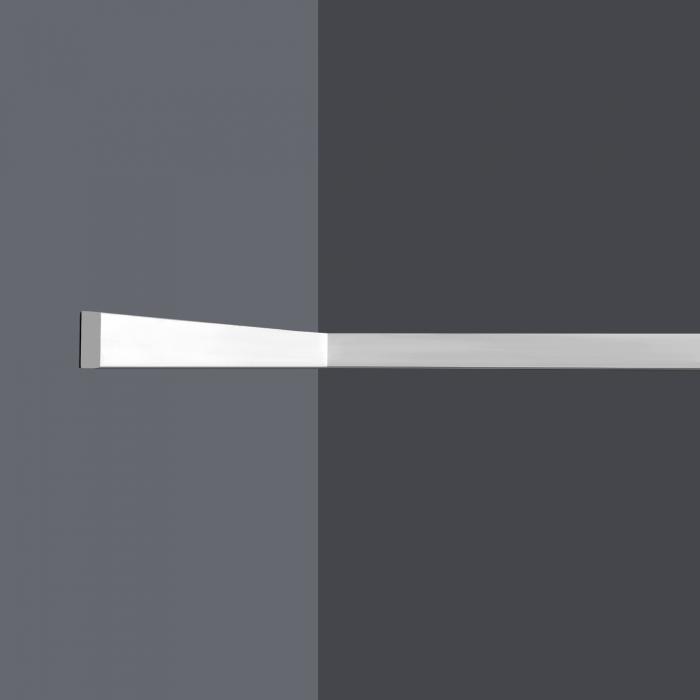 Vägglist frigolit L8