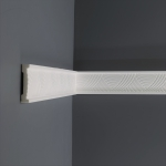 Vägglist frigolit GK15