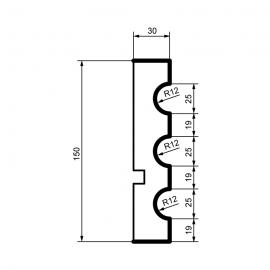 Fasadelist MC124