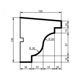Fasadelist DC111