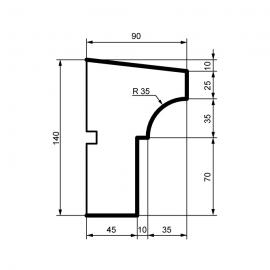 Fasadelist DC112